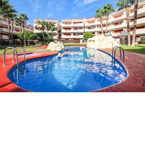 Amazing apartment in Nucleo Orihuela-Costa with Outdoor swimming pool, WiFi and 2 Bedrooms