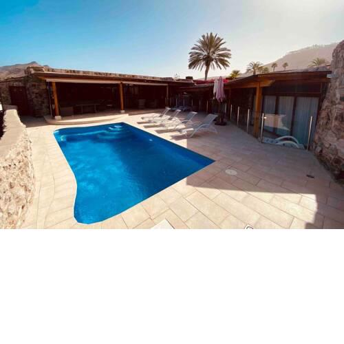 Anfi Tauro Golf Villa with private heated pool