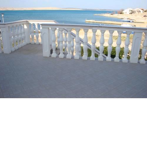 Apartment in Kustici with sea view, balcony, air conditioning, WiFi (3597-1)