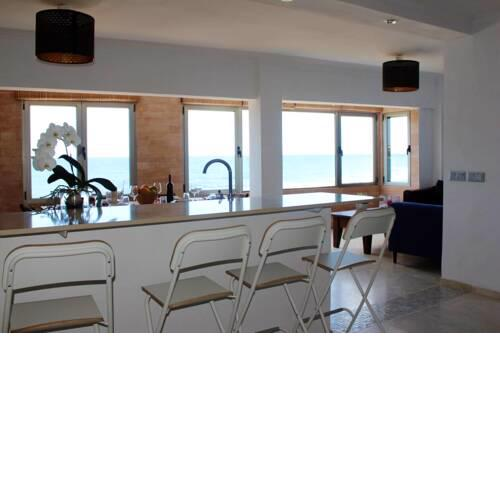 Apartment with 3 bedrooms in El Agujero with wonderful sea view and WiFi 10 m from the beach