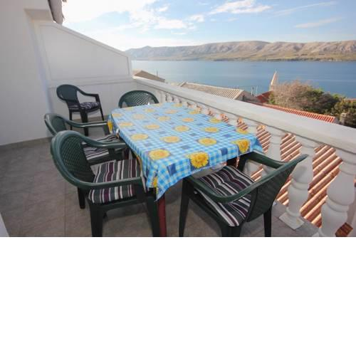 Apartments with a swimming pool Zubovici (Pag) - 9365