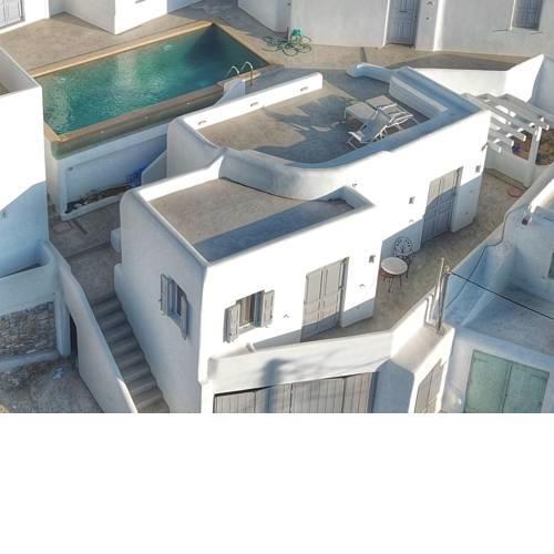 Brand new Myconian house with swimming pool
