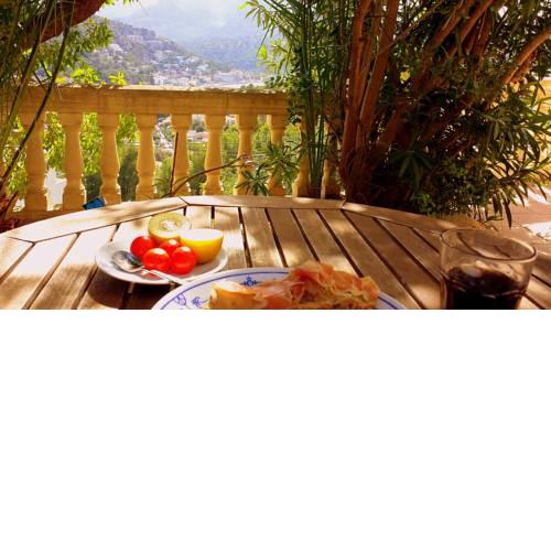 Casa Sol with private terrace, garden, pool, beautiful view