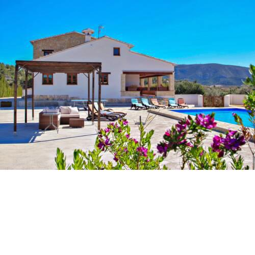 Finca Argudo - private pool villa in Moraira