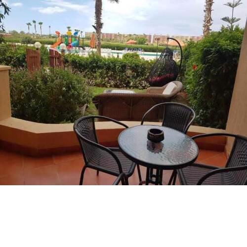 GOLF PORTO MARINA with Garden and Pool View - جولف بورتو مارينا