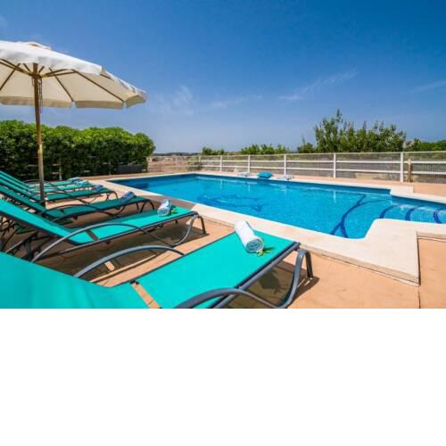 Holiday Home in Santa Margalida Sleeps 6 with Pool and WiFi