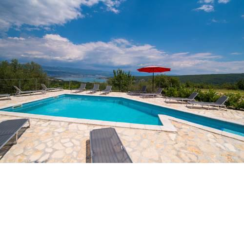 Holiday House Rosalia With Seaview And Swimming Pool