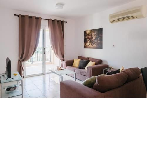 Kings Sunset 2 Bedroom Sea view Flat in Paphos
