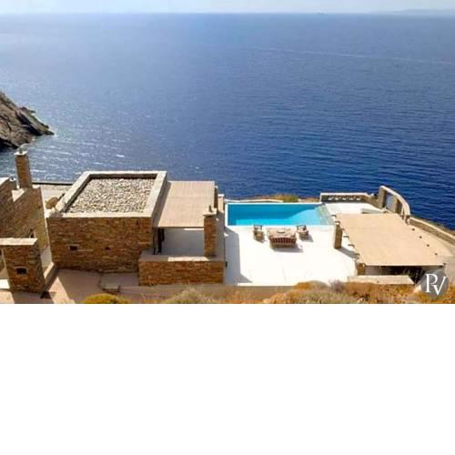 Korissia Villa Sleeps 10 with Pool Air Con and WiFi