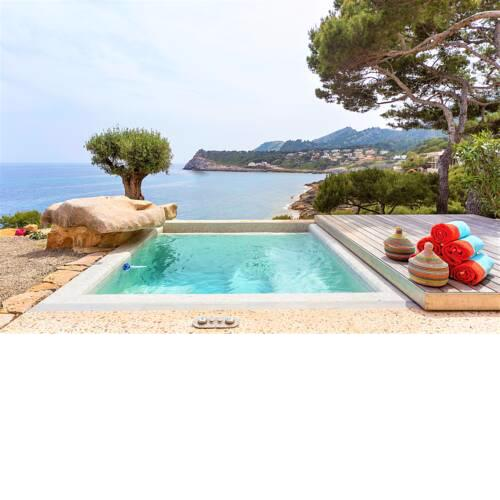 Mallorca front line property direct access to sea 4 pax