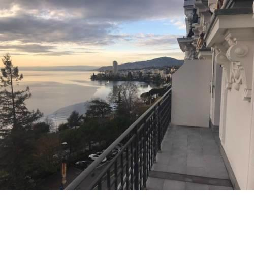 Montreux Apartment with lake view