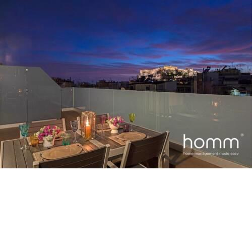 Outstanding Acropolis View homm Penthouse Syntagma