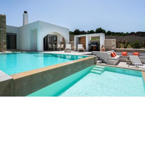 Panoramic Villa with Private Pool & all the amenities you need, near Rethymno city center