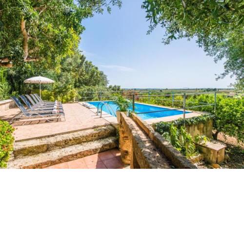 sa Pobla Holiday Home Sleeps 6 with Pool