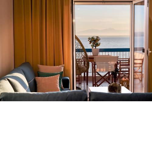 Seafront Luxury President Suite Aegean Sunset