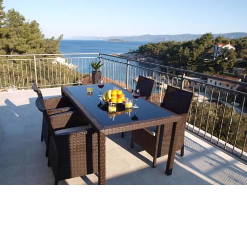 Seaside apartments with a swimming pool Mudri Dolac (Hvar) - 4050