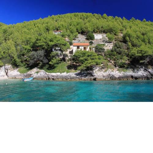 Secluded fisherman's cottage Cove Bratinja Luka (Korcula) - 12599