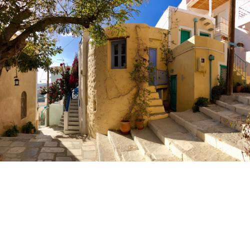 "Traditional Medieval Stone house in ""Ano Syros"""