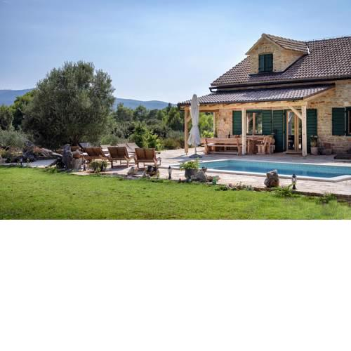 Uvala Borova Villa Sleeps 12 Pool Air Con WiFi