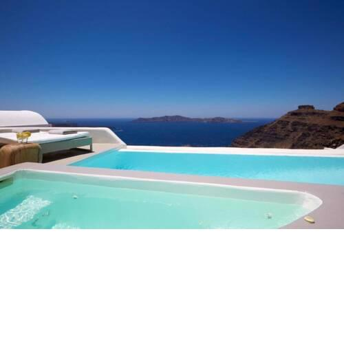 Villa Alfons with a good vibe in Santorini
