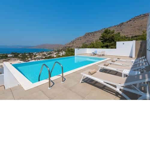 Villa Allegra with pool in Pefkos, Lindos area