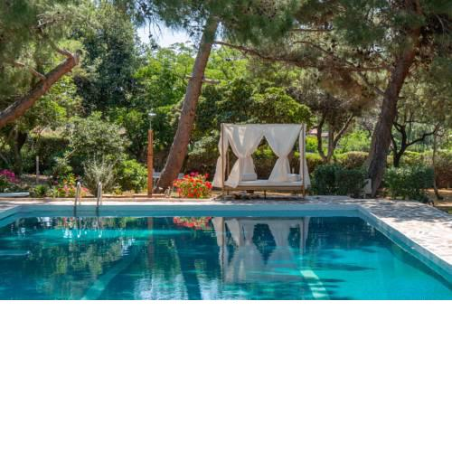 Villa Oasis with private pool and garden in Lagonisi