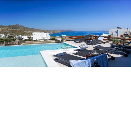Villa Ortus White Cycladic Lux with Private Pool 3bed & 3bath!