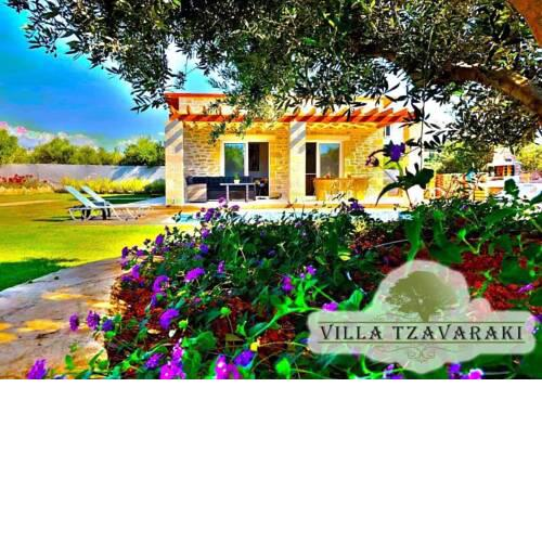 Villa Tzavaraki in 800 sqm secluded land