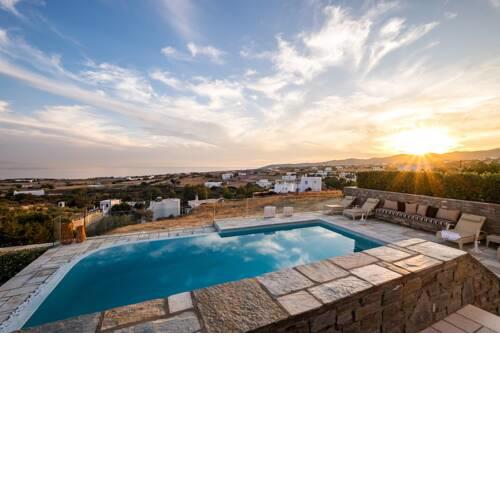 Villa Vitamin Sea with Heated Pool and Panoramic Sea View